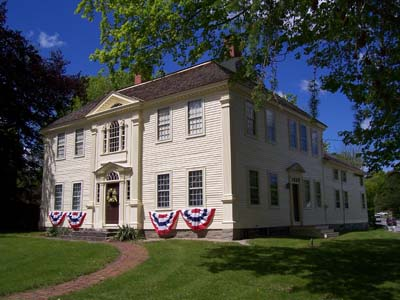 The Prudence Crandall House was built in 1805. Its namesake, Prudence Crandall, was a well-known abolitionist and teacher who ran a school for African Americans.