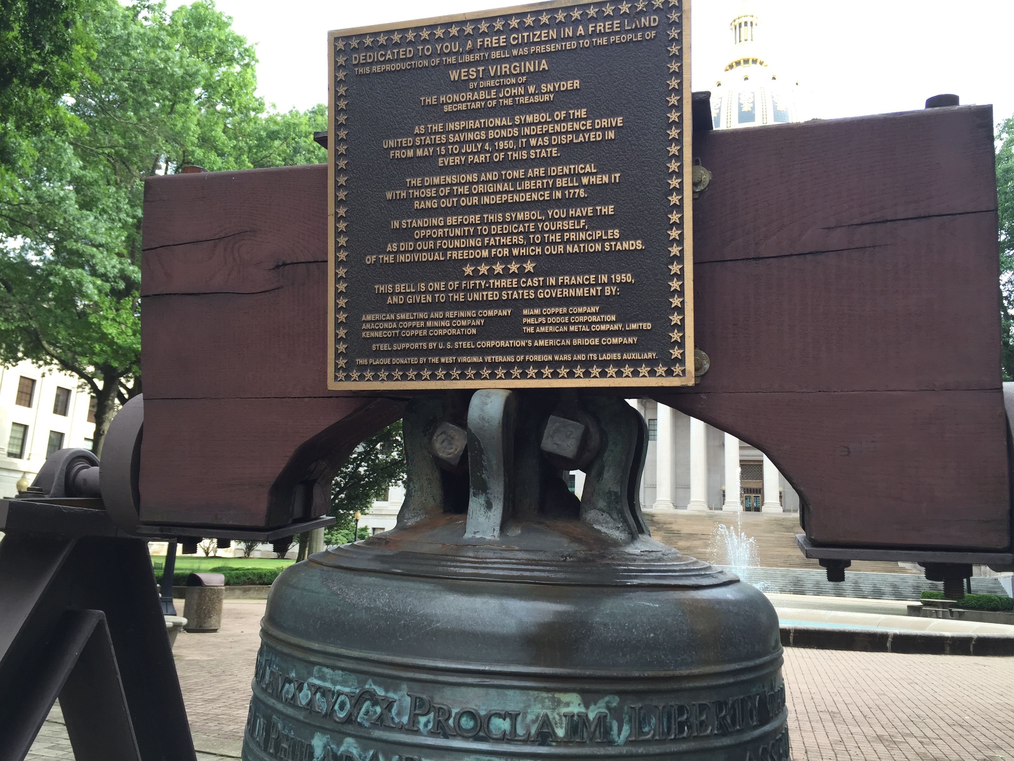 Liberty Bell Replica Marker