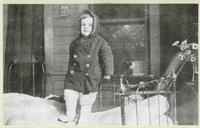 Child on the Porch of the Hospital