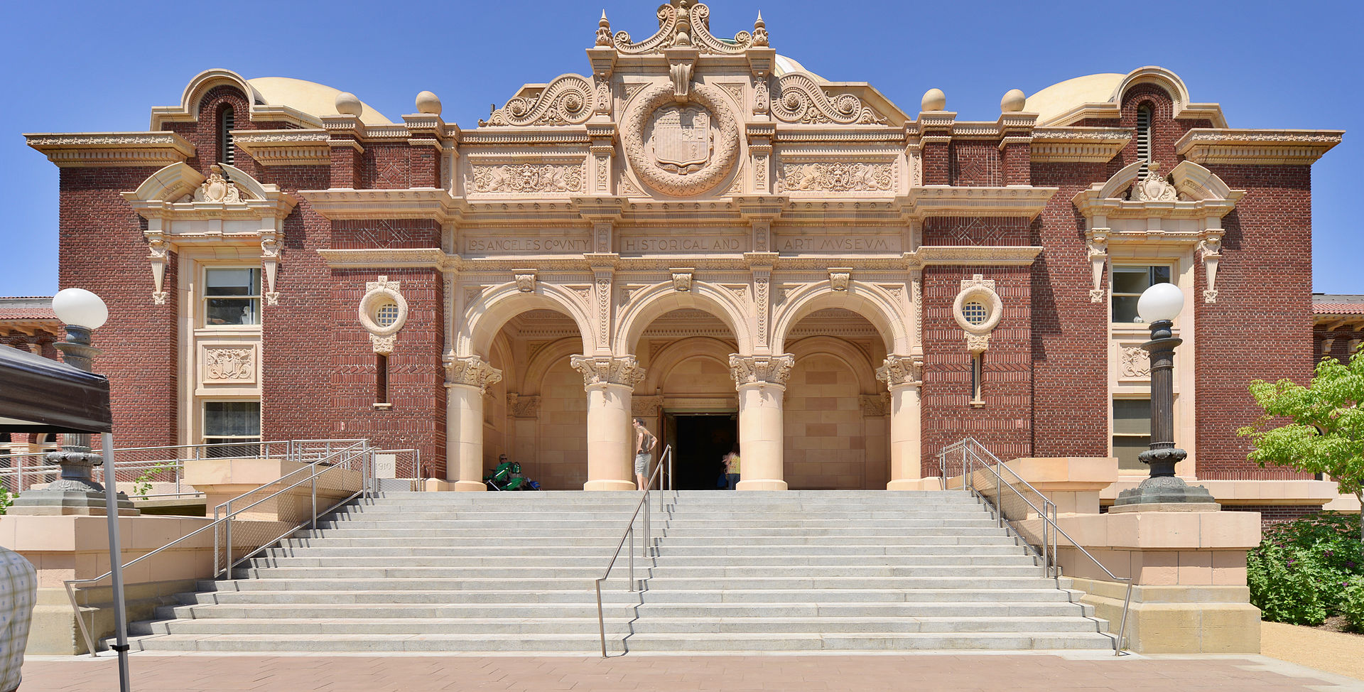 The Natural History Museum of Los Angeles County was founded in 1913 and is one of the largest museums in the country, holding an enormous collection of specimens and cultural artifacts.