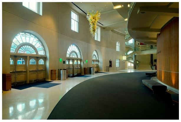 """The """"Ellie"""" lobby (image from DPAC)"""