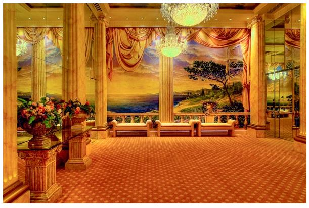 The Wolf Room in the Temple Hoyne Buell (image from DPAC)