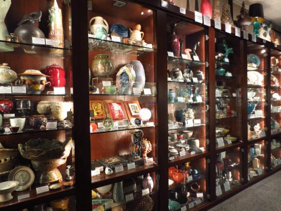 A display of the Kirkland's ceramics (image from Trip Advisor)