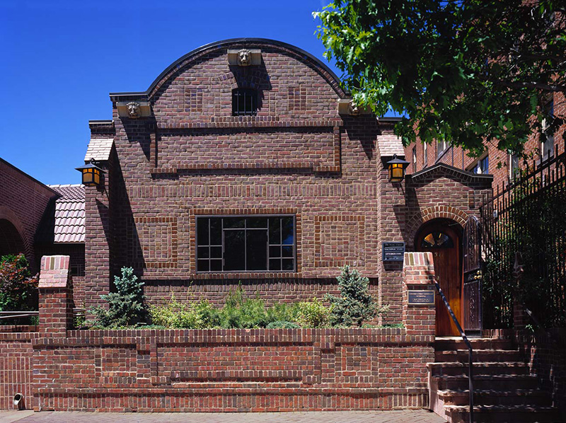 Kirkland's original studio (image from the Kirkland Museum)
