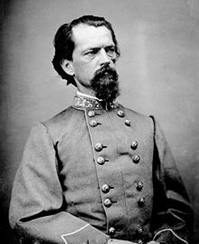 Confederate General John B. Gordon who led the attack