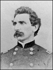 Union Brigadier General John F. Hartranft who led the counterattack to recapture the fort