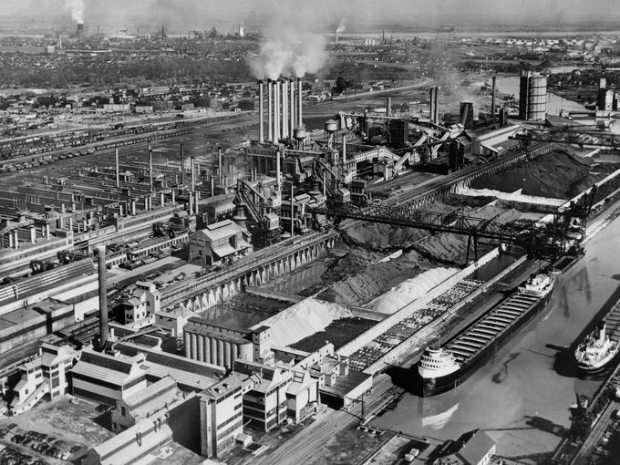 The Ford River Rouge Plant