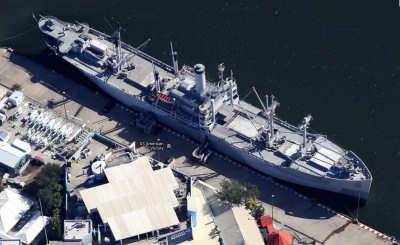 USS American Victory docked