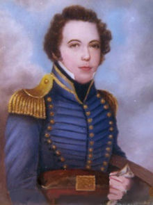 Portrait of Lieutenant James Gadsden, one of the founders of Fort Brooke