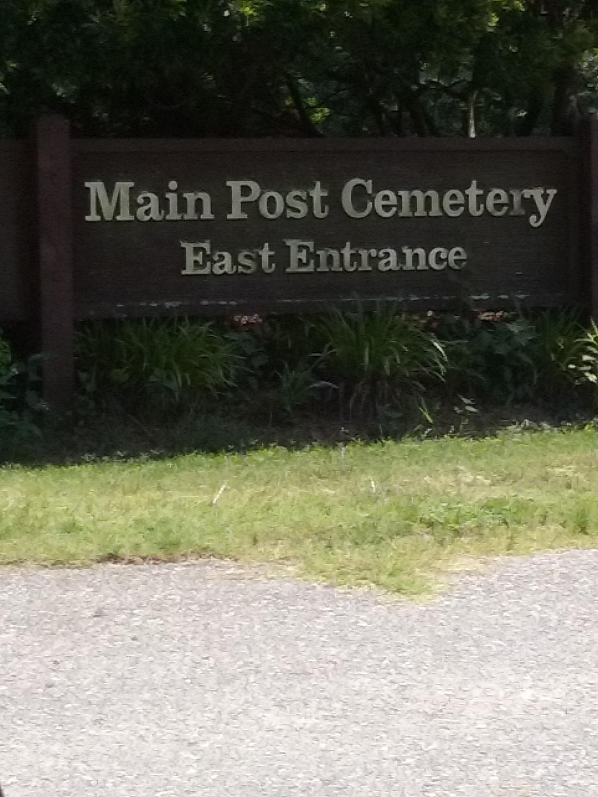 Main Post Cemetery was established in 1918, the same year Fort Bragg was founded.