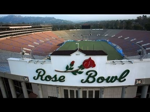 The Rose Bowl was completed in 1922 and has hosted some of the most iconic moment in sport.