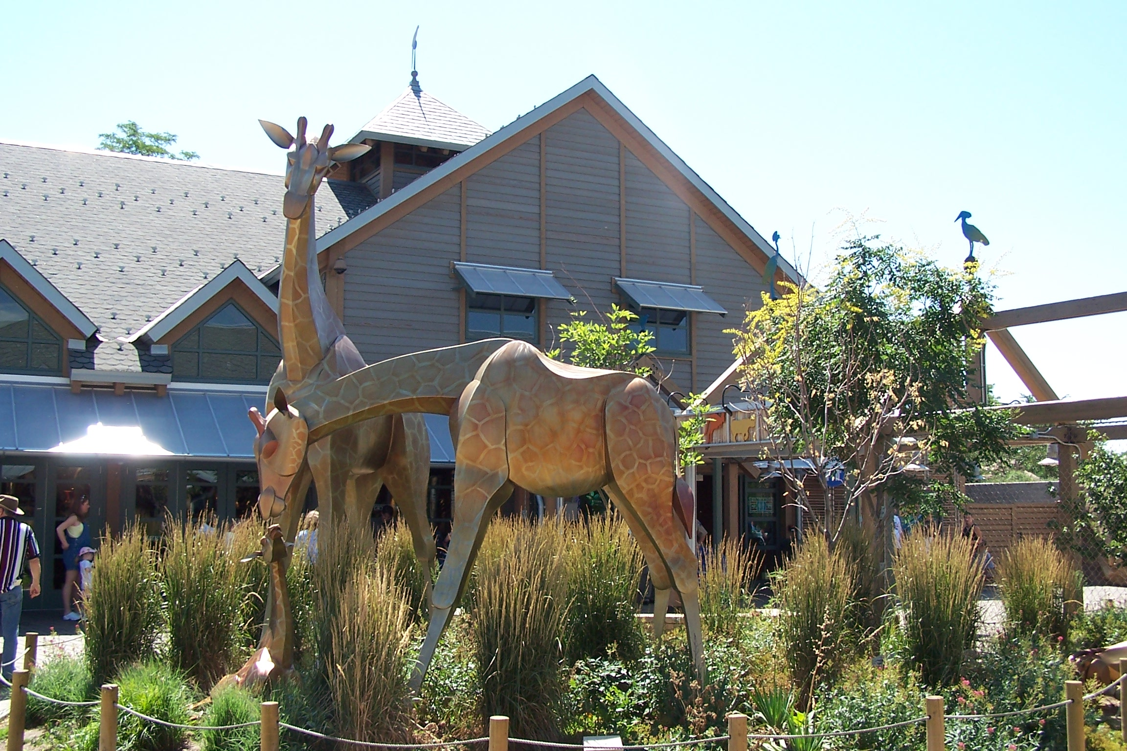 Entrance to the Denver Zoo (image from A Thousand Wonders)