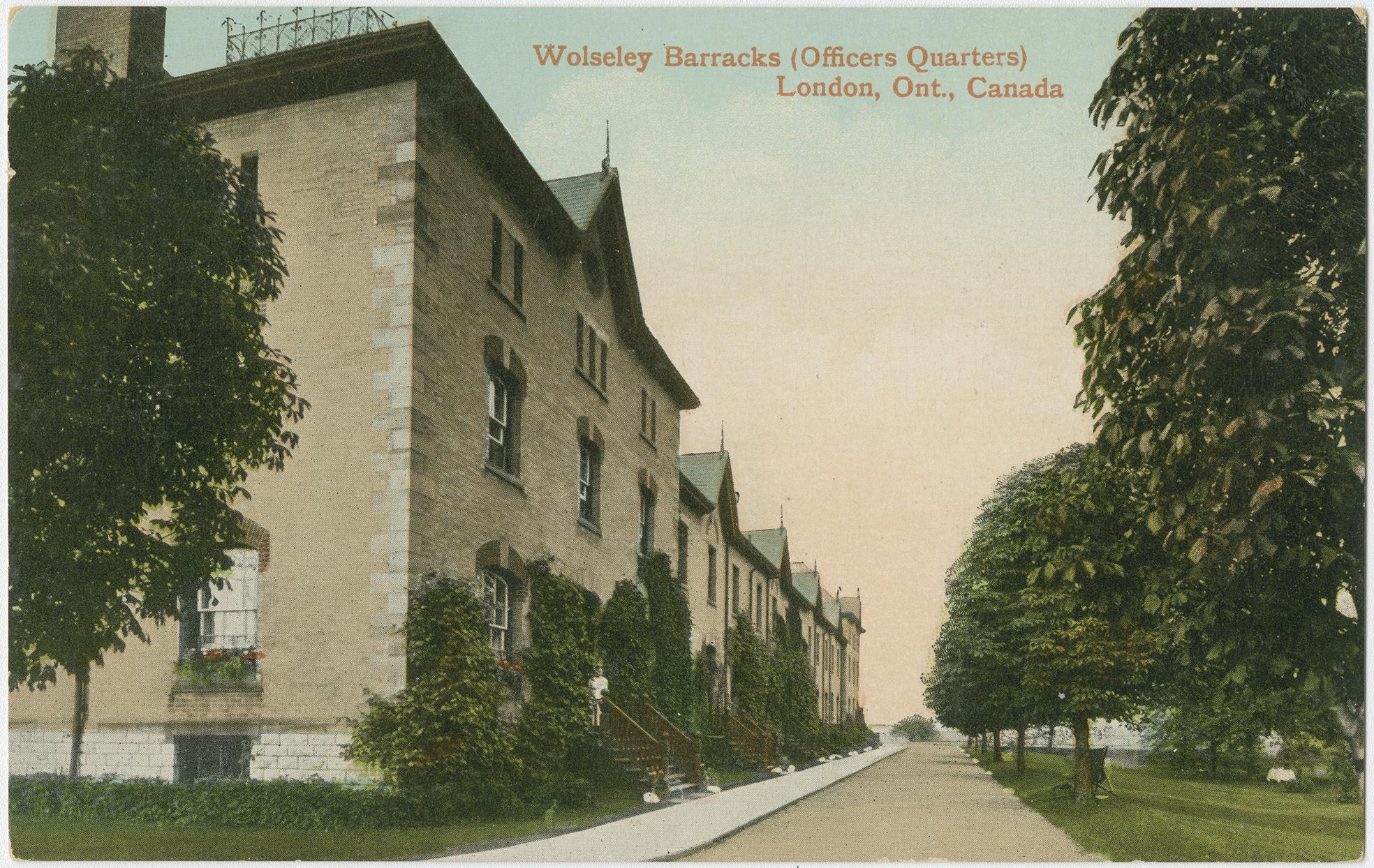 Wolseley Barracks, Officers Quarters, London Ont, Canada