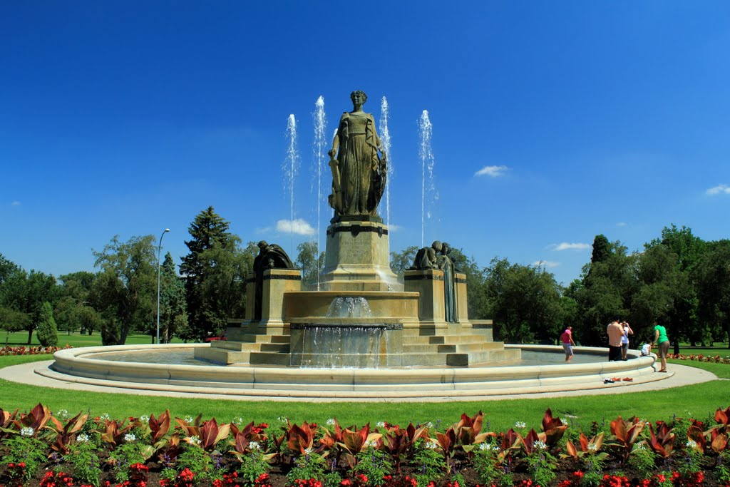 Thatcher Fountain of City Park (image from Panoramio)