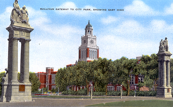 The Sullivan Gateway circa 1930 (image from Route40.com)