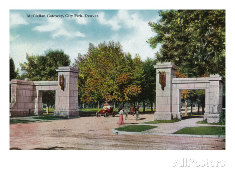 McClellan Gateway of City Park (image from AllPosters.com)
