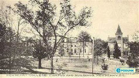 Newberry College campus, originally opened in 1858