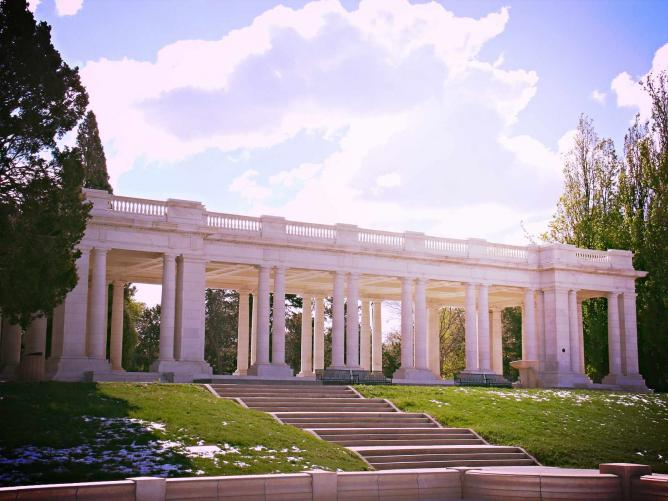 Cheesman Park pavilion (image from Culture Trip)