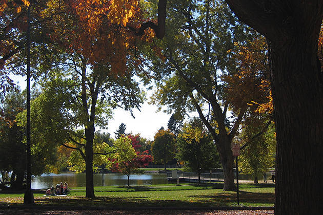 Smith Lake (image from the City of Denver)