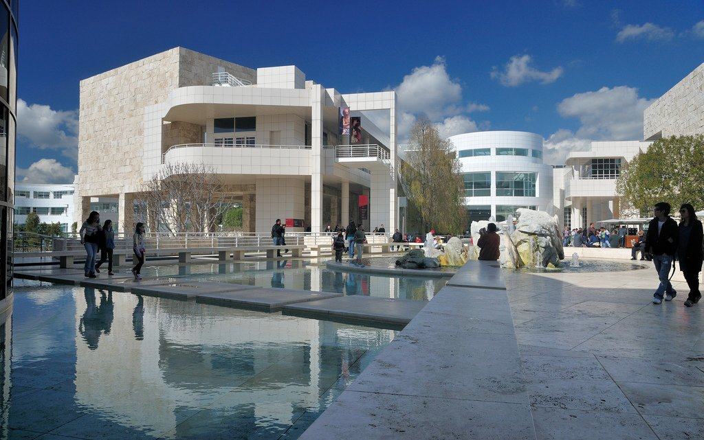 The J. Paul Getty Museum is comprised of two campuses; the main one is located in the Brentwood neighborhood of Los Angeles, and the other is located in the Pacific Palisades neighborhood.