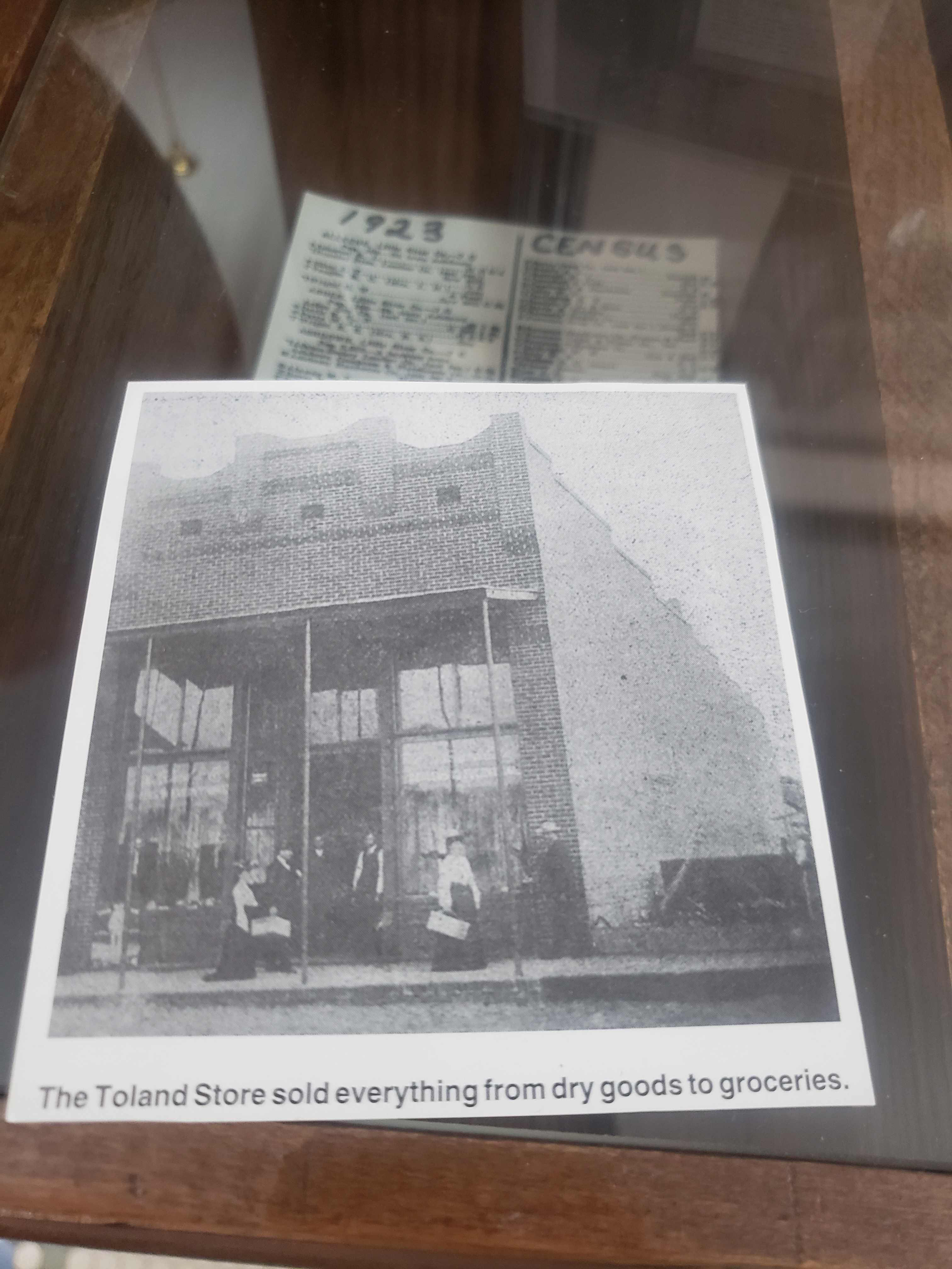 Toland Store sold everything from dry goods to groceries.