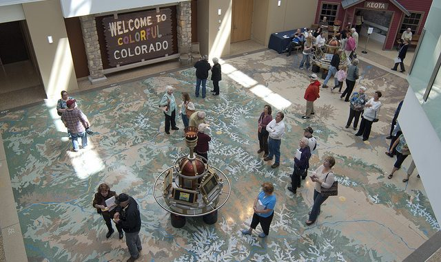 Atrium of the History Colorado Center