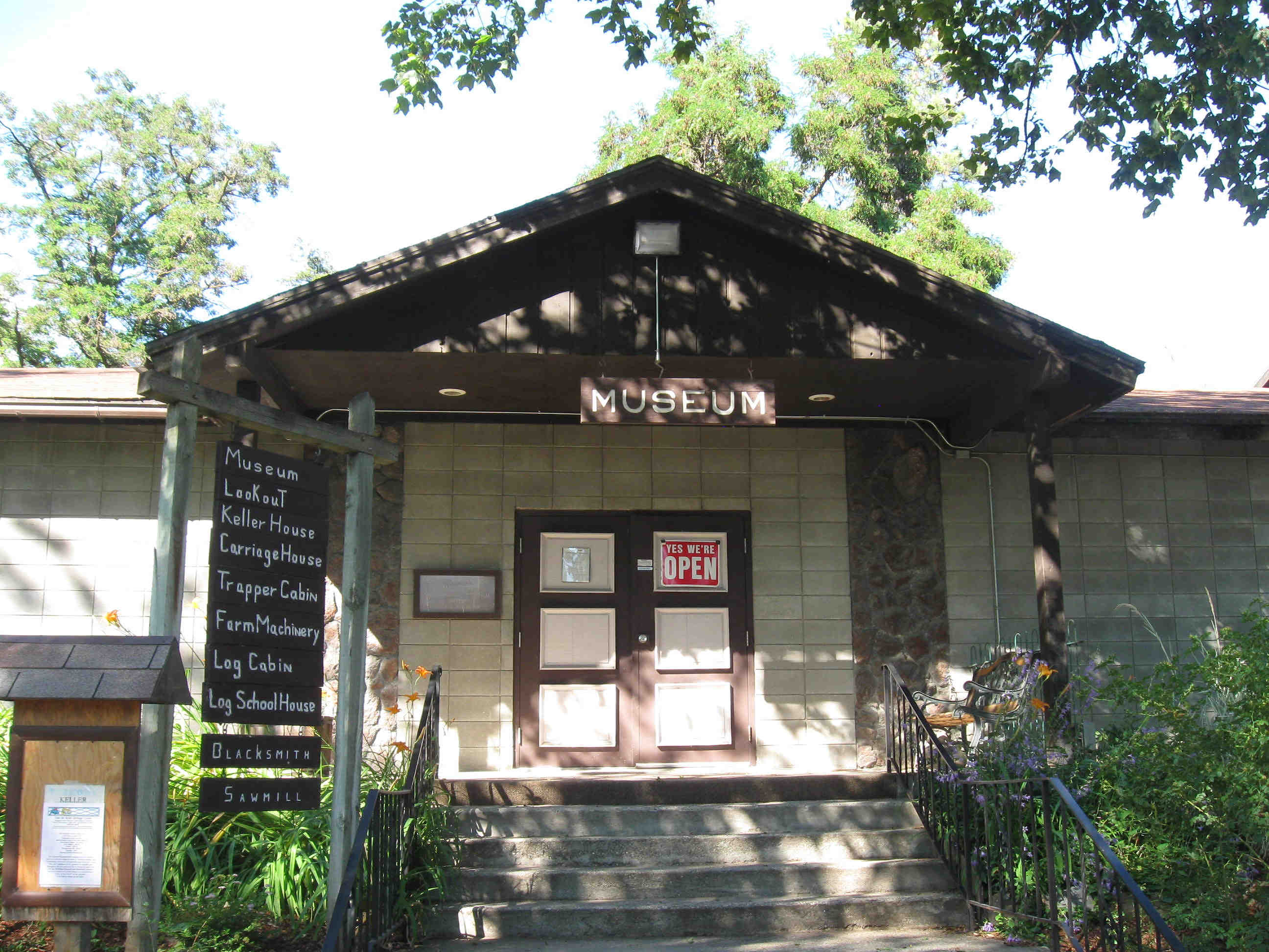 Fort Colville Museum entrance