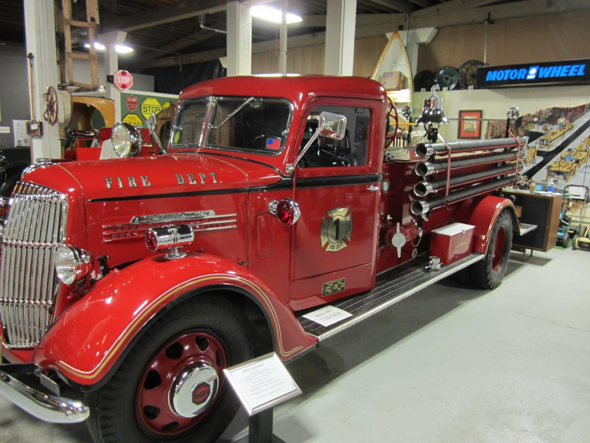 1938 REO Speedwagon Fire Truck