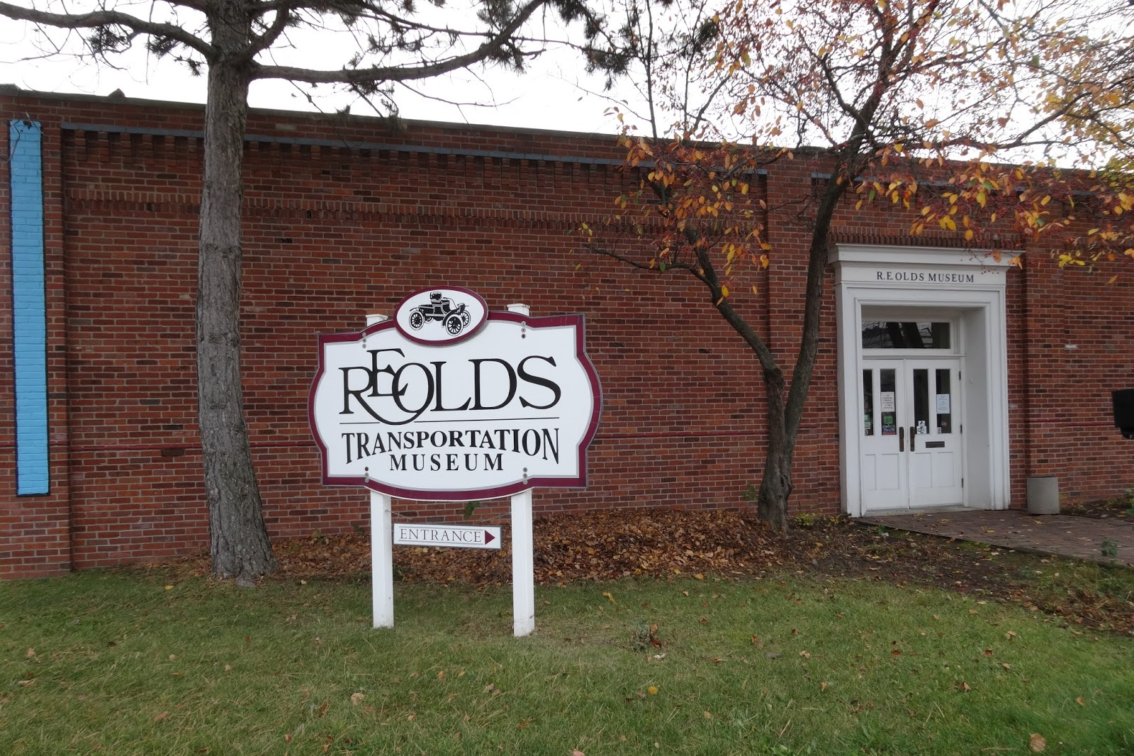 The RE Olds Transportation Museum