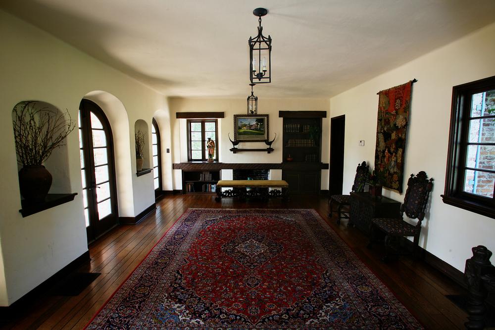 Interior view of the Casa Feliz House