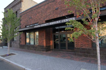 Photograph of the Crook County History Center.