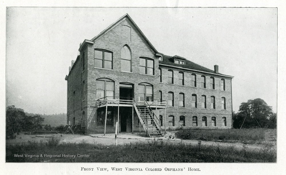 West Virginia Colored Orphan's Home, 1912