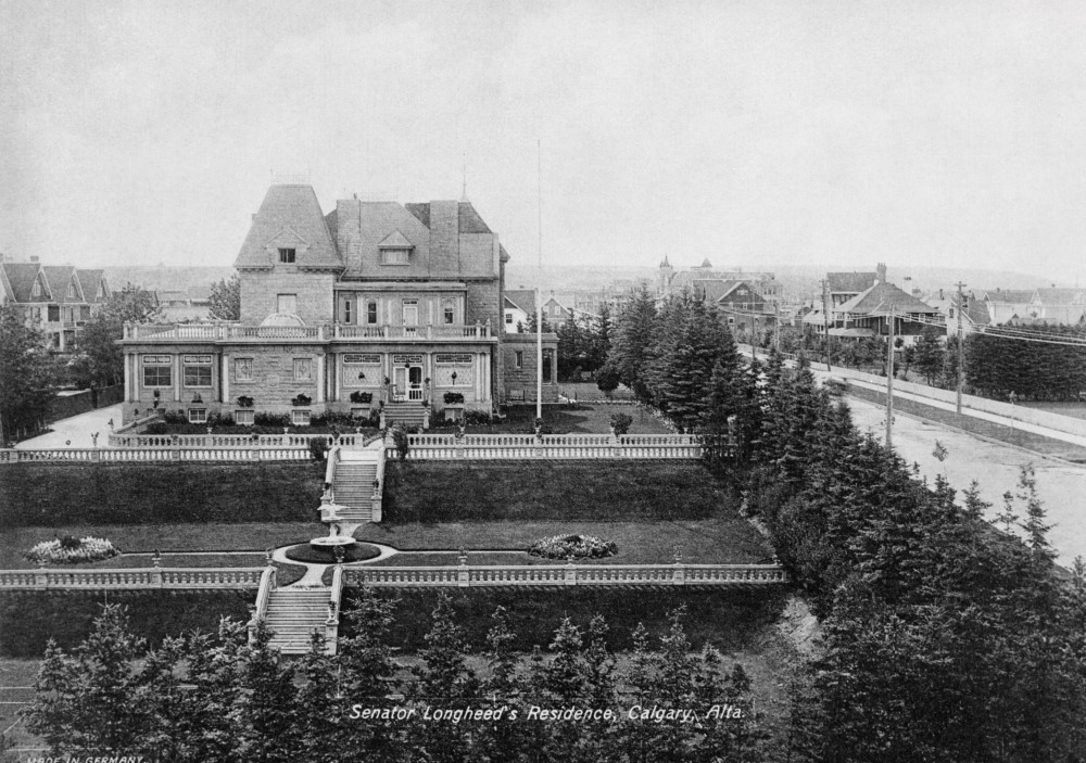 Lougheed House, c. 1912