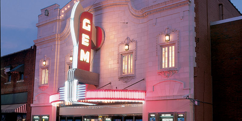 Gem Theater in the 18th and Vine District