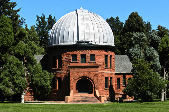 Front view of the observatory.