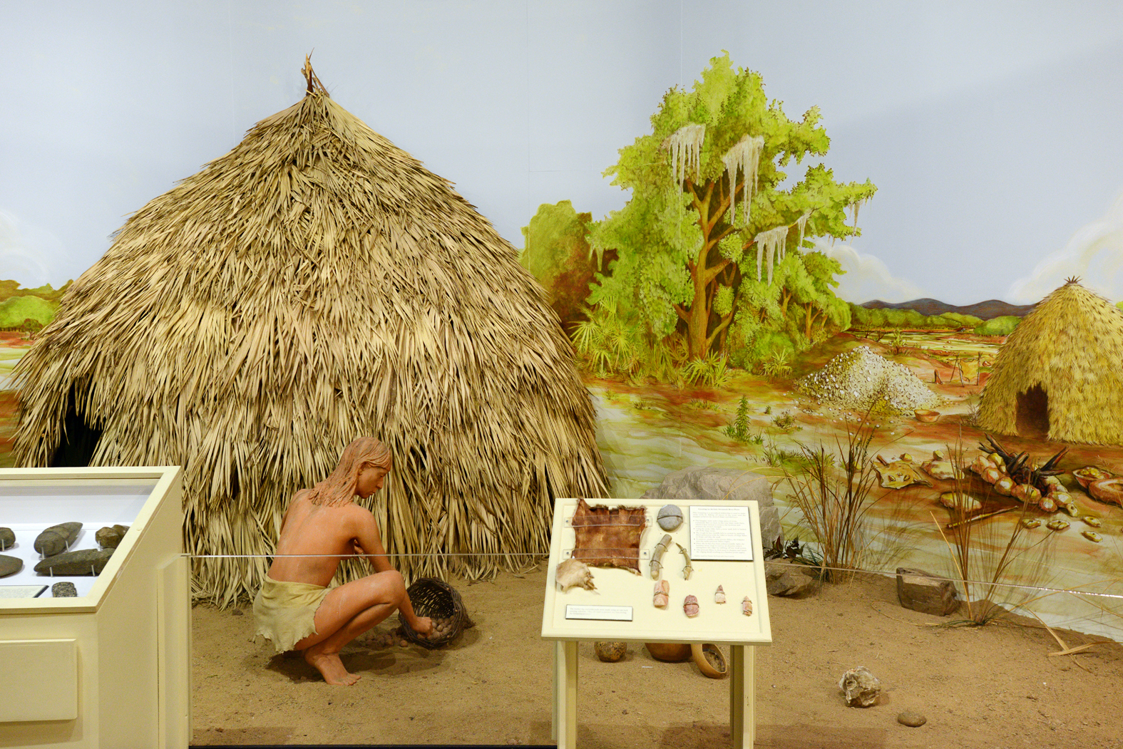 "The museum's permanent collection is entitled ""Savannah's Story."" It begins with Native inhabitants and traces the past twelve thousand years of the area's history."