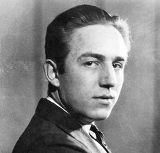 Young Walt Disney.