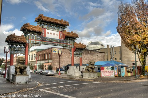 The entrance to Chinatown today (neighborhoodnotes.com)