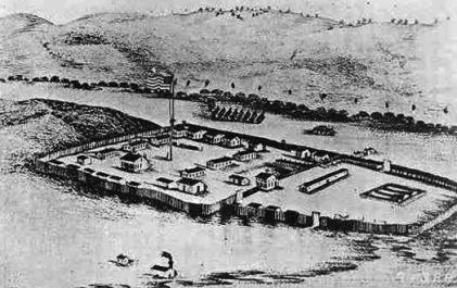 The 1867 image of Fort Phil Kearny is from Wyoming Tales and Trails.  thanks.