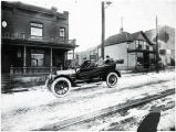 Dragstedt Family's first car from 1913. At the time, this was one of only 44 cars in the entire town.