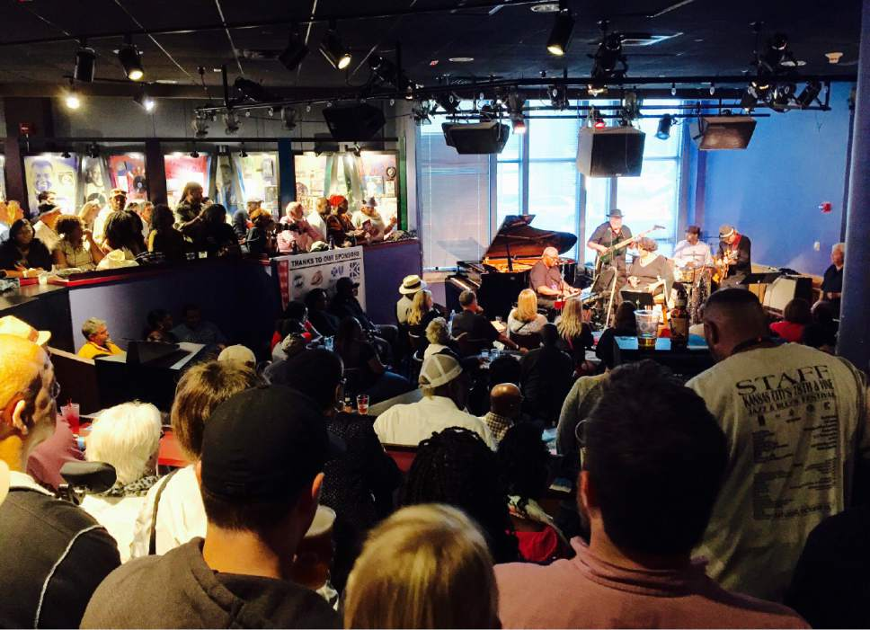 Live jazz performances at the Blue Room