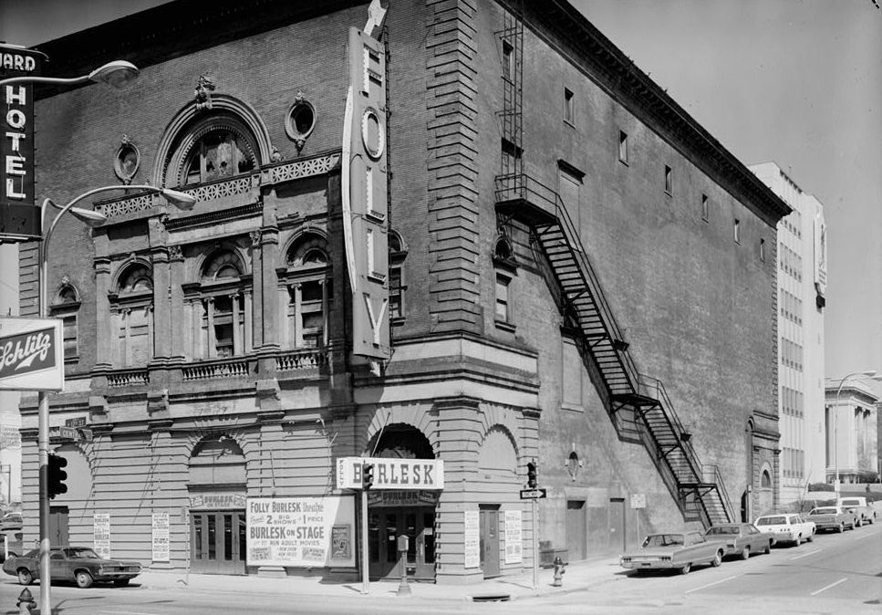 Folly Theater in 1973