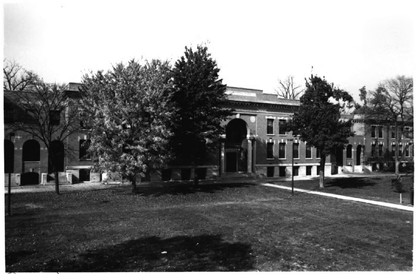 Simpson Hall, the former Girls' Dormitory (image from National Register of Historic Places)