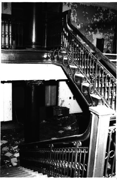 Simpson Hall stairwell (image from National Register of Historic Places)