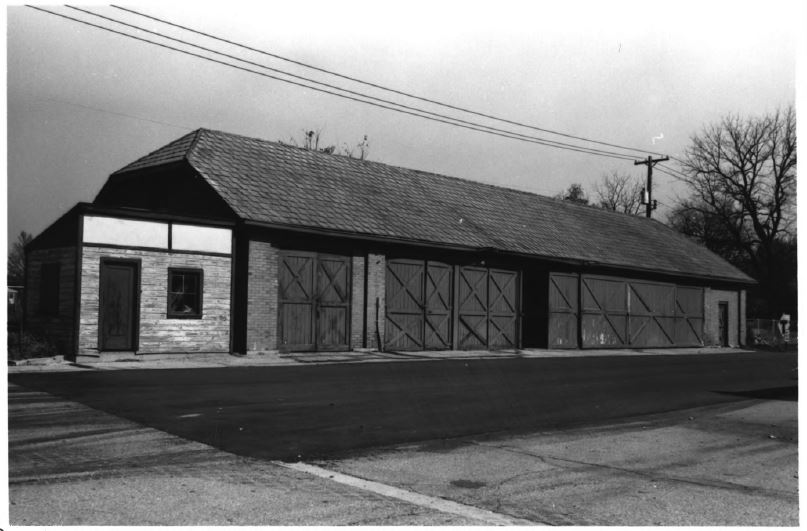 Historic barn on the Indiana School for the Deaf campus (image from National Register of Historic Places)