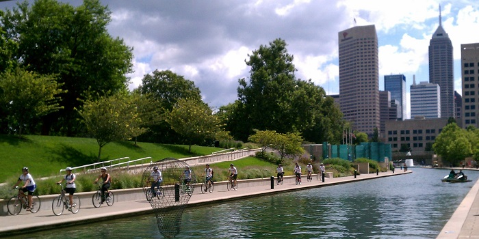 Indianapolis Cultural Trail (image from Active Indy Tours)