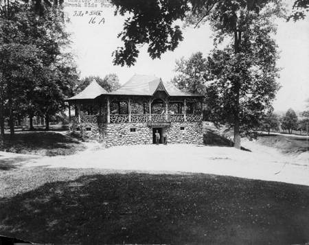 Shelter house at the park (image from the Indiana Historical Society)