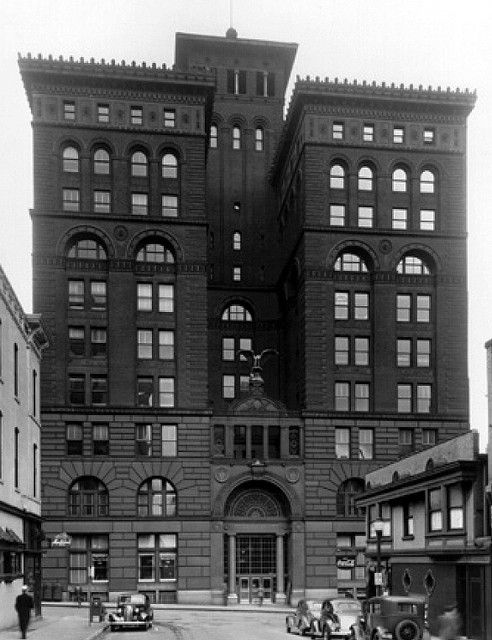 New York Life Building in the 1940s