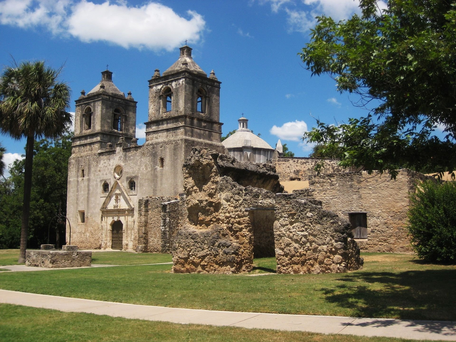Mission Concepción church is the oldest unrestored church structure in the country.