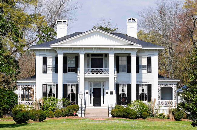 The Burt- Stark Mansion in Abbeville is a popular place for weddings and other occasions where participants wish to explore one interpretation of the Old South.